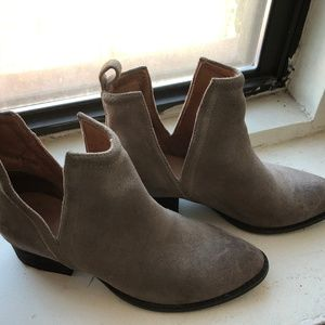 Jeffrey Campbell Booties, Taupe size 6.5